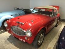 красный цвет автомобиля классицистический Стоковое Изображение