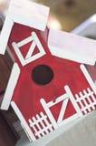 красный цвет амбара Стоковое Фото