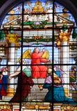красный цвет ангела Стоковое Фото
