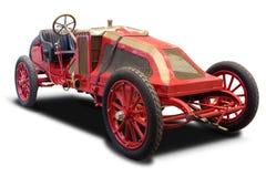 красный цвет античного автомобиля Стоковое Изображение RF