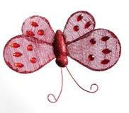 красный цвет бабочки Стоковая Фотография
