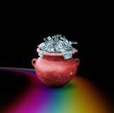 красный цвет бака дег Стоковое Фото