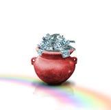 красный цвет бака дег Стоковая Фотография RF