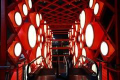 красный цвет барабанчика фарфора Стоковые Изображения