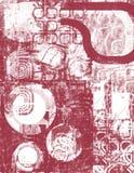 красный цвет беспорядка стоковое фото rf