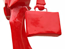 красный цвет бизнесмена Стоковое Изображение RF