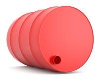красный цвет бочонка Стоковые Изображения