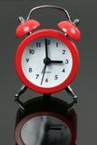 красный цвет будильника Стоковые Фотографии RF