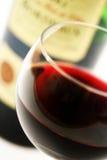 красный цвет бутылки французский стеклянный Стоковое Фото