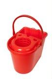 красный цвет ведра Стоковое фото RF
