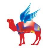 красный цвет верблюда Стоковая Фотография