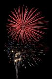 красный цвет взрыва Стоковая Фотография RF