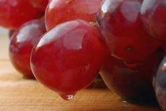 красный цвет виноградины стоковое изображение