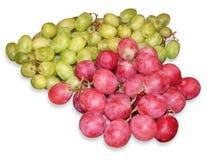 красный цвет виноградин зеленый Стоковое Фото