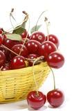 красный цвет вишен Стоковые Изображения RF