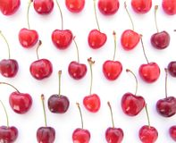 красный цвет вишен Стоковая Фотография