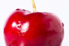 красный цвет вишни близкий вверх Стоковое Изображение RF