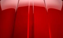 Красный цвет вишни контура автомобиля стоковое изображение