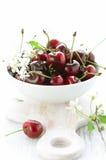 красный цвет вишни свежий Стоковые Фото