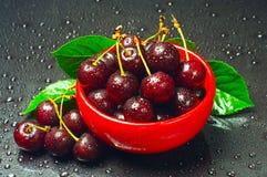 красный цвет вишни шара Стоковое Изображение