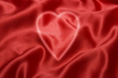 красный цвет влюбленности сердца предпосылки Стоковое Изображение RF