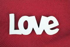 красный цвет влюбленности Стоковые Изображения RF