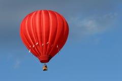 красный цвет воздушного шара горячий стоковые фотографии rf
