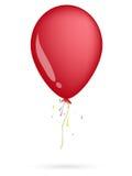 красный цвет воздушного шара Стоковое Изображение RF