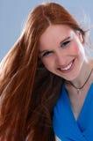 красный цвет волос стоковая фотография