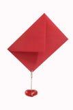 красный цвет габарита Стоковое фото RF