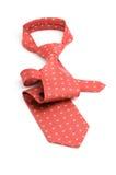 красный цвет галстука Стоковая Фотография
