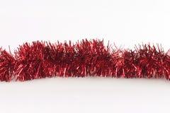 красный цвет гирлянды альфаы Стоковые Фотографии RF