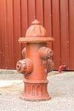 Красный цвет гидранта улицы Стоковое фото RF