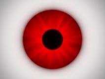 красный цвет глаза Стоковое Изображение