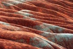 красный цвет глины Стоковое фото RF