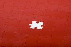 красный цвет головоломки Стоковое Изображение