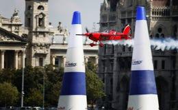 красный цвет гонки быка воздуха стоковые изображения rf