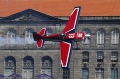 красный цвет гонки быка воздуха Стоковое Фото