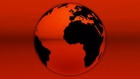 красный цвет горизонта земли иллюстрация штока