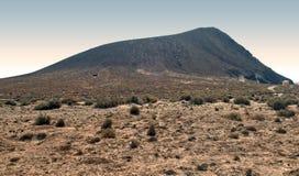 красный цвет горы Стоковые Изображения RF