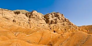 красный цвет горы Стоковое Изображение