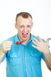 красный цвет горячего перца Стоковая Фотография RF