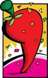 красный цвет горячего перца Бесплатная Иллюстрация