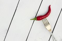 красный цвет горячего перца chili Стиль страны Стоковое Изображение RF