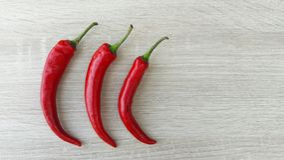 красный цвет 3 горячего перца chili стоковые фотографии rf