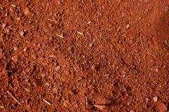 красный цвет грязи Стоковые Изображения