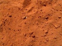 красный цвет грязи стоковое изображение rf