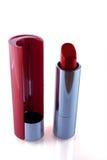 красный цвет губной помады стоковые фотографии rf
