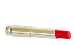 красный цвет губной помады Стоковое Фото