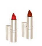 красный цвет 2 губных помад Стоковые Фотографии RF